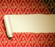 rivit sönder papper Royaltyfria Foton