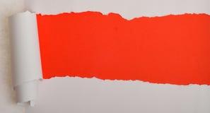 Riven sönder pappers- bakgrund Fotografering för Bildbyråer