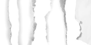 rivna paper stycken Arkivfoto