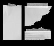 rivna paper stycken Fotografering för Bildbyråer