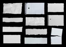 rivna papperen Arkivfoton