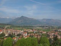 Rivoli Italy. View of the city of Rivoli in italy royalty free stock image