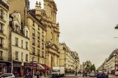 Rivoli street. Paris Stock Images