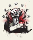 Rivoluzione e protesta Fotografie Stock