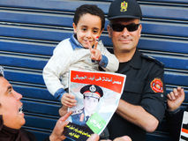 Rivoluzione 30 giugno egiziano Fotografia Stock Libera da Diritti