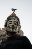Rivoluzione sociale Fotografia Stock Libera da Diritti