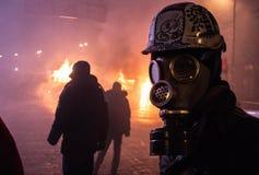 Rivoluzione in Ucraina Immagine Stock Libera da Diritti