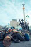 Rivoluzione ucraina fotografia stock