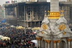 Rivoluzione in Ucraina Fotografie Stock Libere da Diritti