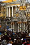 Rivoluzione in Ucraina fotografia stock libera da diritti