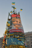 Rivoluzione in Ucraina. EuroMaidan. Immagini Stock