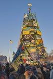 Rivoluzione in Ucraina. EuroMaidan. Fotografie Stock