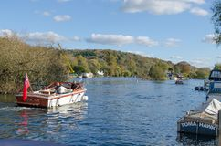 The rivr Thames at Henley on Thames Royalty Free Stock Photography