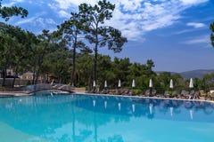Rixos优质博德鲁姆旅馆,土耳其 库存图片
