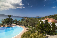 Rixos优质博德鲁姆旅馆,土耳其 库存照片