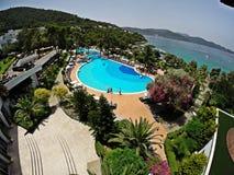 Rixos优质博德鲁姆旅馆,土耳其 免版税图库摄影
