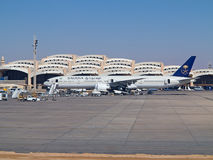 Riyadh airport Stock Images