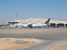 Riyadh airport Royalty Free Stock Photo