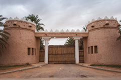Riyadh extravagant and huge houses, Saudi Arabia Stock Photos