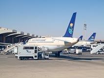 Riyadh flygplats Arkivbilder