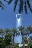 RIYADH - 21 octobre : Al Mamlaka Tower et environs sur Octobe Photos libres de droits