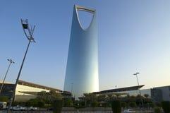 RIYADH - 21 octobre : Al Mamlaka Tower et environs sur Octobe Photographie stock