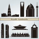 Riyadh oriëntatiepunten en monumenten Royalty-vrije Stock Fotografie