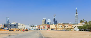 RIYADH, SAUDI ARABIA - FEBRUARY 9, 2015: Cityscape of Riyadh Royalty Free Stock Photography