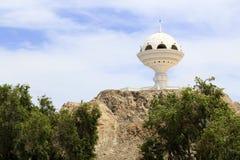 Riyam monument, jätte- rökelsegasbrännare - landskap Royaltyfria Bilder
