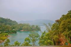 Riyuetan-Pool Lizenzfreies Stockfoto