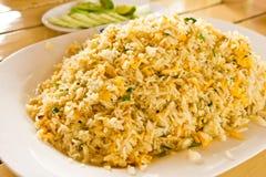 Riz allumé par crabe Image stock