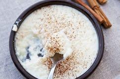 Riz au lait Image libre de droits