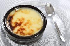 Riz au lait cuit au four photo libre de droits
