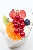Riz au lait de fruit Images stock