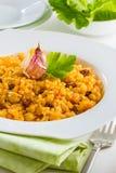 Riz avec des raisins secs Image stock