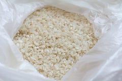 Riz blanc dans le paquet Photos libres de droits