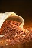 Riz brun Photographie stock