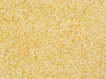 Riz brun de grain court images stock