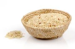 Riz brun, riz non poli, riz blanchi imparfaitement nettoyé, riz blanchi par moitié ((Oryza L. sativa) Photographie stock libre de droits
