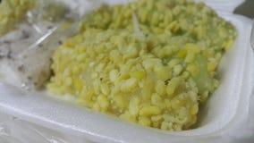 Riz-crêpe de fèves de mung Photo stock