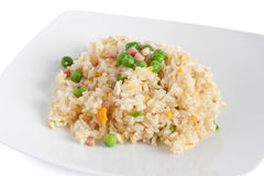 Riz de Cantonese, nourriture chinoise Photos stock
