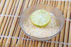 Riz de citron Photos stock