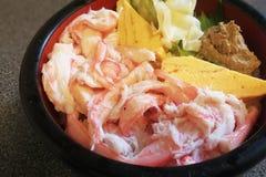 Riz de fruits de mer Photos stock