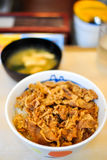 Riz de Gyudong, Japon Photo stock