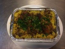 riz de poulet photo stock