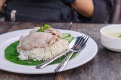 Riz de poulet Photo libre de droits