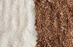 riz de sarrasin Photographie stock libre de droits