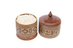 Riz en osier ou Kratip ou riz collant images stock