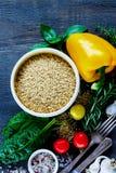 Riz et légumes Images libres de droits