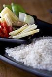 Riz et Vegtables Image libre de droits